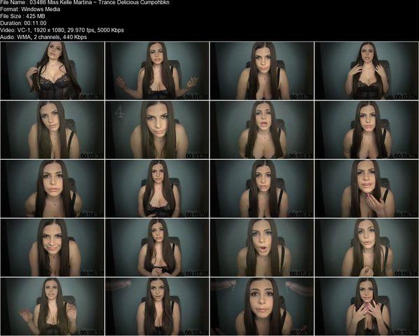 Miss Kelle Martina - Trance: Delicious Cum