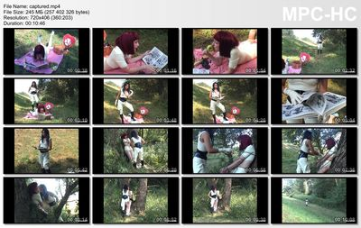 Fetish Live - Amrita, Romy - Captured In The Woods
