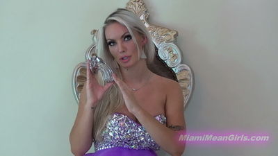 American Mean Girls - Goddess Harley - Chastity Key Cuckold