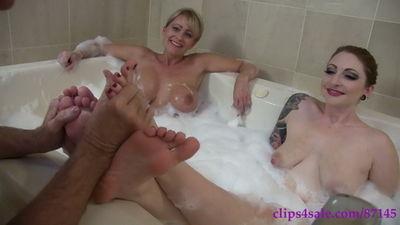 Clubstiletto – Mistress Kandy, Miss Olivia-Rose – Kandy's Bathmat Bitch
