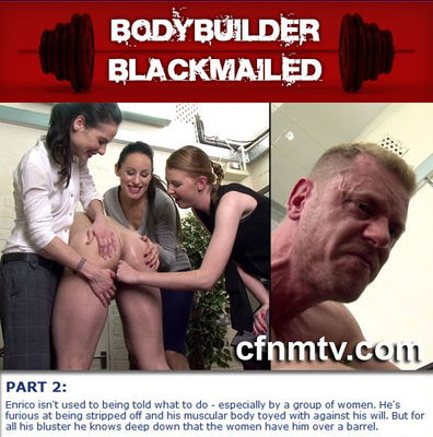CfnmTV - Bodybuilder Blackmailed 2