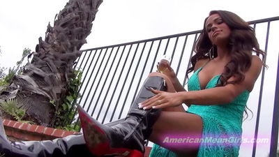 American Mean Girls - Princess Carmela - Virtual Muddy Boot Licker
