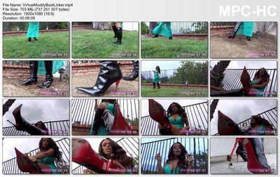 American Mean Girls - Princess Carmela - Virtual Muddy Boot Licker
