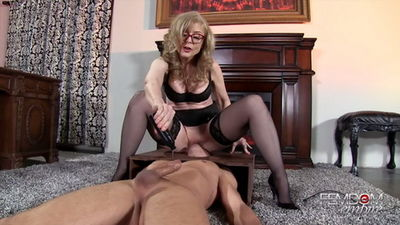 Femdom Empire - Nina Hartley - Plaything Cock Jerk