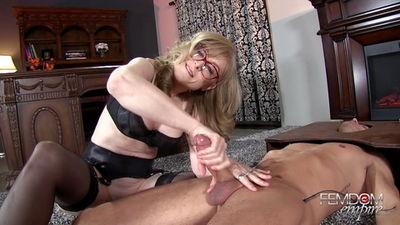 Femdom Empire - Nina Hartley - Plaything Cock Jerk