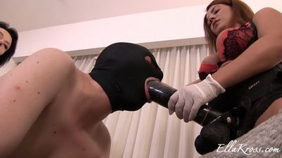 Ella Kross - Training Slave to Be a Whore Using Strap-Ons Featuring Anne!