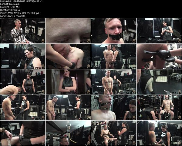 Domina Antonia - Blinded and Interrogated 1-2