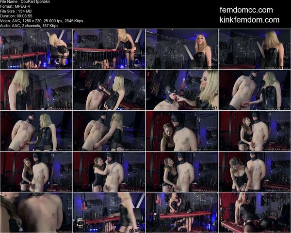 TheEnglishMansion - Mistress Sidonia, Mistress T - Double Fuck Home Movie Part 1-3