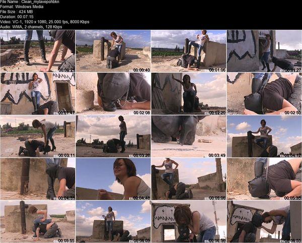 Ella Kross - Clean my Dirty Boots, Slave!