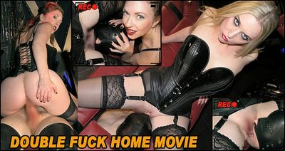 The English Mansion - Mistress Sidonia, Mistress T - Double Fuck Home Movie
