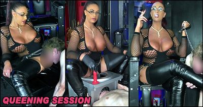 The English Mansion - Mistress Pandora - Queening Session