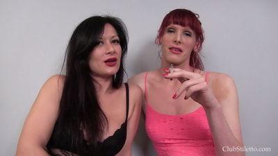 Clubstiletto - Miss Jasmine, Mistress Staci - Poisoned and Burnt
