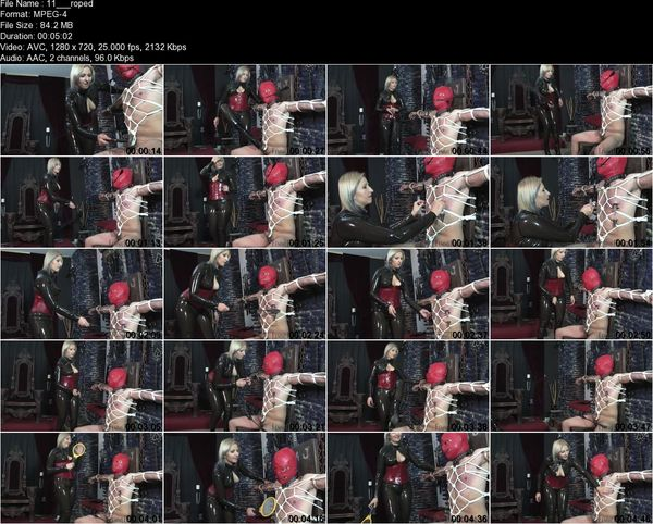 FemmeFataleFilms - Mistress Johanna - Roped In Part 1-2