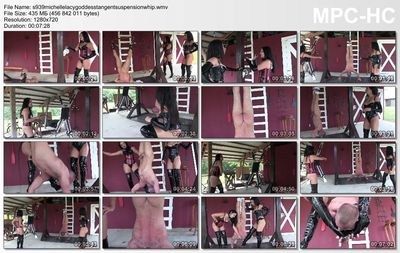 Clubdom - Michelle & Tangent Suspension Whipping