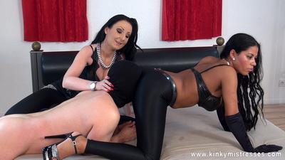 Kinky Mistresses - Lady Luciana, Mistress Amazonas - Sniff her Arse