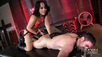 Femdom Empire - Kristina Rose - Merciless BBC Ass Pounding