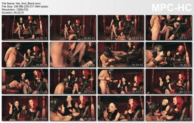 The English Mansion - Lady Sophia Black, Morrigan Hel - Hel & Black