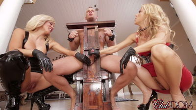Clubdom - Sex Slave For Blondes Part 4: Forced Milking