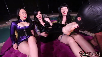 Clubdom - Lydia Supremacy, Mistress Michelle  - 6 Tired Feet, 1 slave