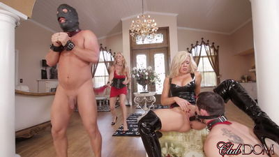 Clubdom - Sex Slave For Blondes Part 6: Pleasured By Sadism