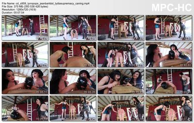 Clubdom - Brutal Immobiile Caning By the Guardesses