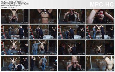 Perfect Slave - Busty, Bound & Upside Down - Ariella Ferrera