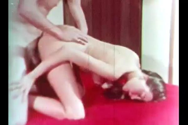 Retro style pornography 70s with young  girl