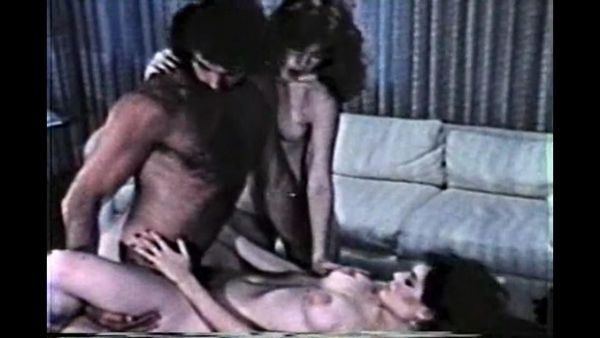 Group sex with young unshaven pussy in the 70s!
