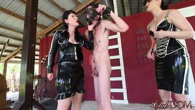 Clubdom - Militia of Femdom: Guardess Whipping