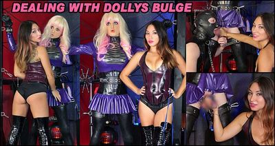 The English Mansion - Mistress Roxy Jezel - Dealing With Dollys Bulge