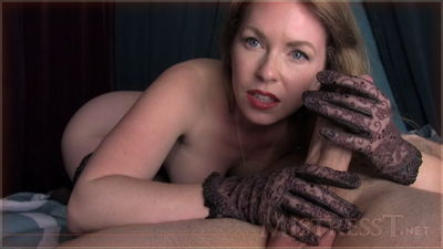 Mistress T - Leather Glove Quick Stroke