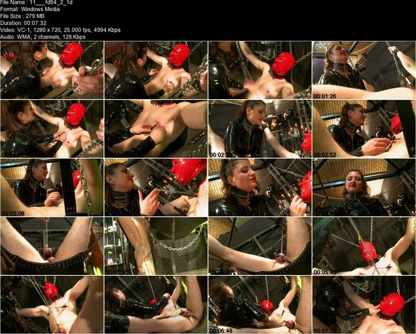 Schlagendegirls - Lady Anna - Has the reins in her hand Part 1-2