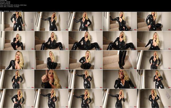 Mikaela Witt - Latex Catsuit Blackmail