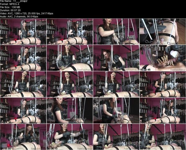 FemmeFataleFilms - Mistress Lady Renee - Strapped Down Part 1-2