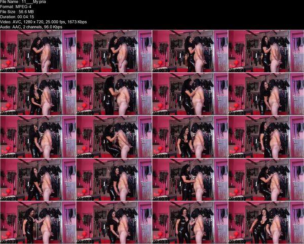 Kinky Mistresses - Mistress Ezada - My private ballbusting slave