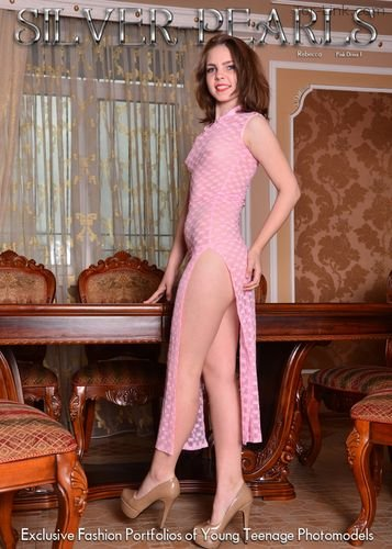 Silver-Pearls Rebecca - Pink Dress 1