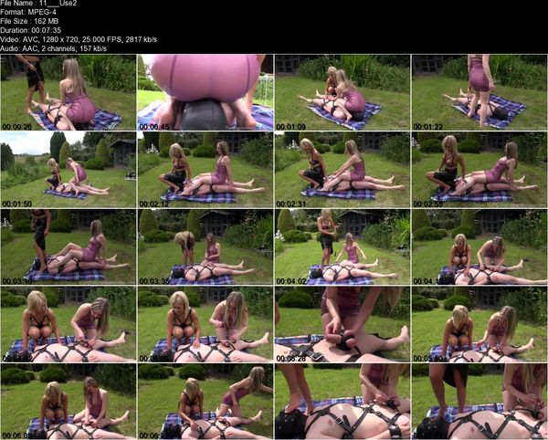TheEnglishMansion - Mistress Sarah Jessica, Mistress Sidonia - Used To Amuse Part 1-3
