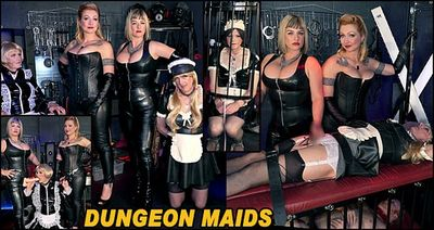 The English Mansion - Dungeon Maids Part 1