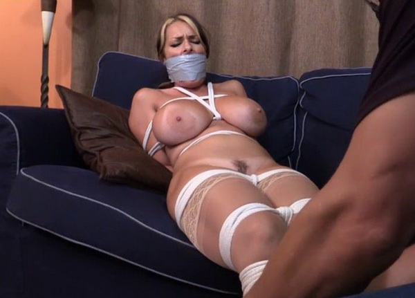 girl tied up and strippe