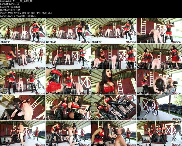Clubdom - Michelle & Tangent Caning