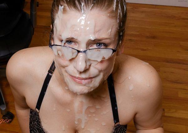 Makeout facial double blowjob secretary