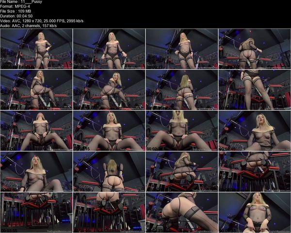 TheEnglishMansion - Mistress Sidonia - Pussy Cleanup Duties Part 1