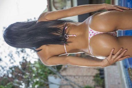 Denisse Gomez WET BIKINI