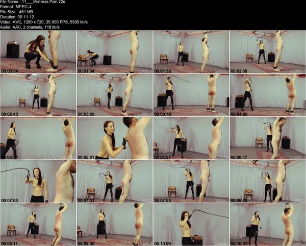 CRUEL PUNISHMENTS - Lady Anette - Mistress Pain Part1-3