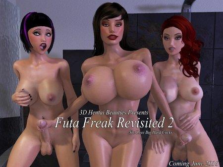 [Xalas Studios] [3D Hentai Anime] Futa Freak Revisited Part 1-2 (2016) HD 720p