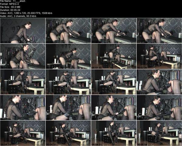 FemmeFataleFilms - Lady Victoria Valente - Anal Inflation Part 1-3