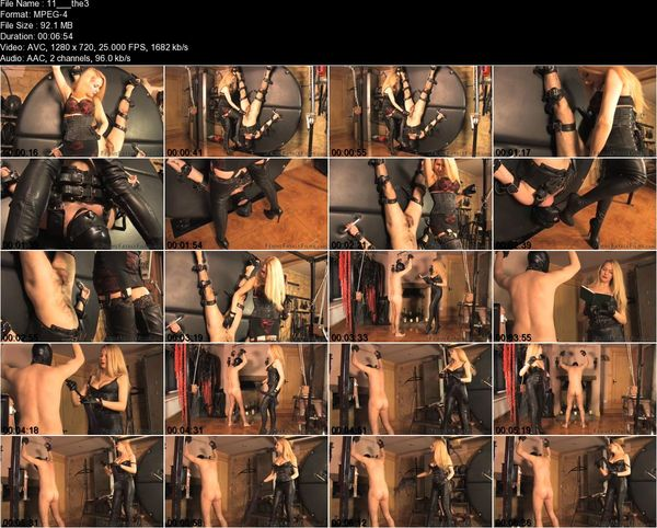 FemmeFataleFilms - Mistress Eleise de Lacy - The Trial Of A Slave Part 1-11