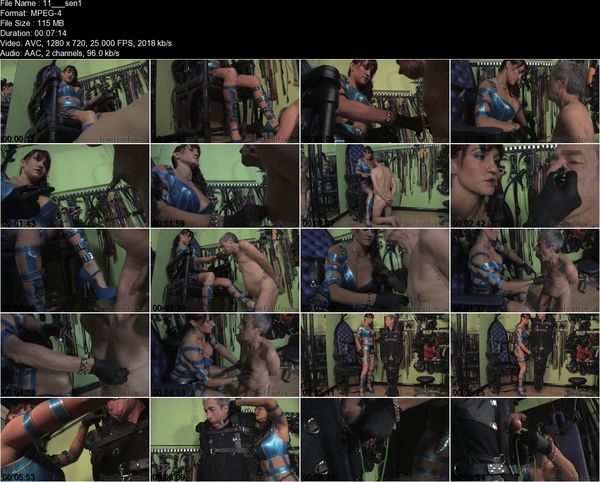 FemmeFataleFilms - Miss Miranda - Sensory Test Part 1-3