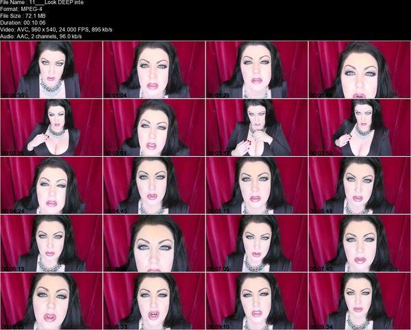 Goddess Zenova - Look DEEP into my eye and cum for me