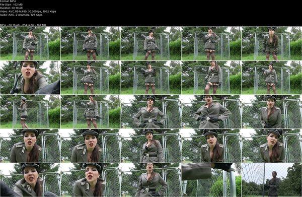 Goddess Alexandra Snow - Internment Camp